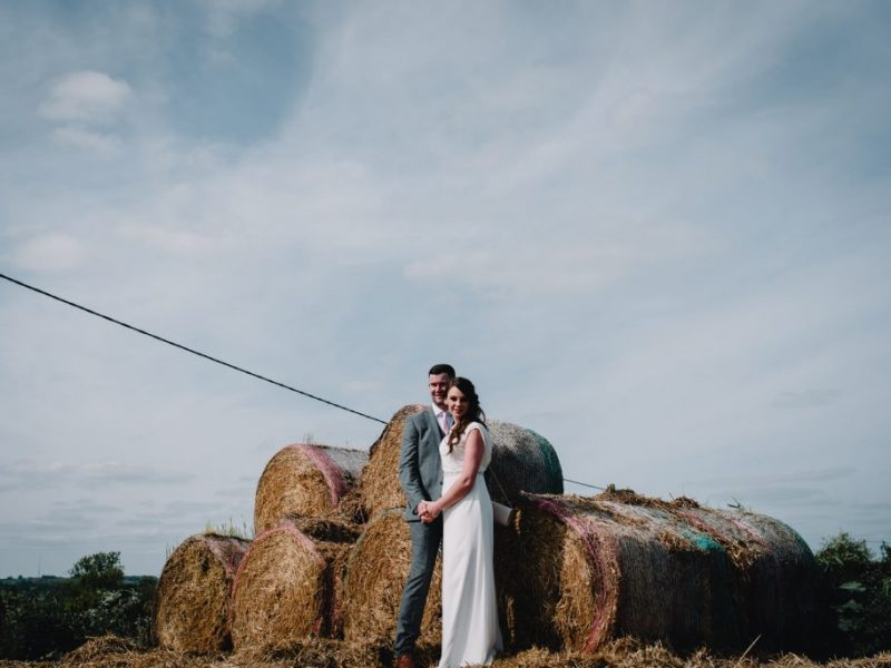 Couple portraits at the farm at Everdon