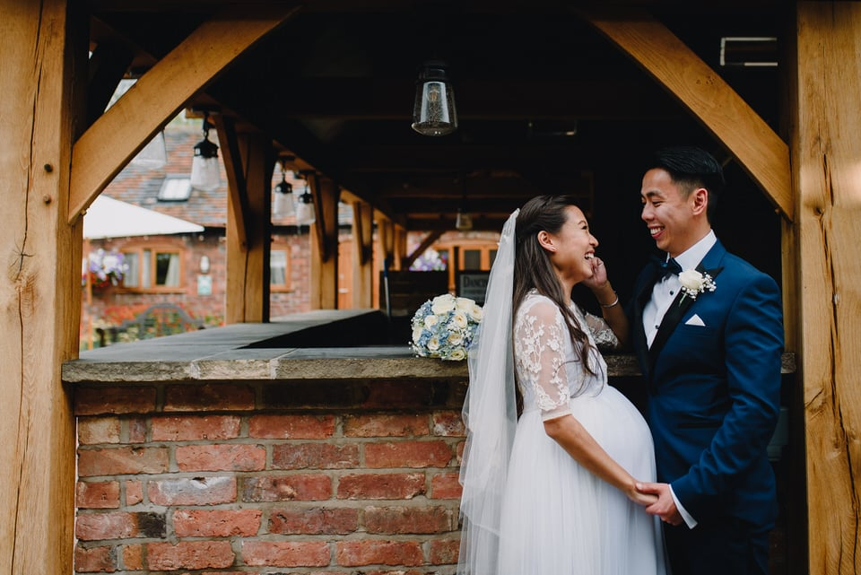 Mythe Barn Wedding 32