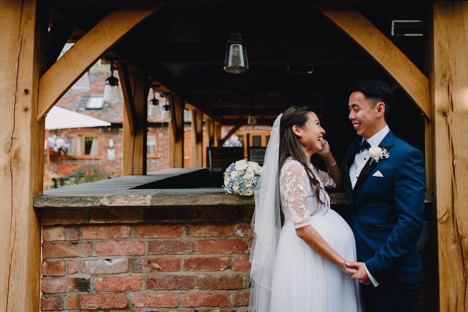 Mythe Barn Wedding 32