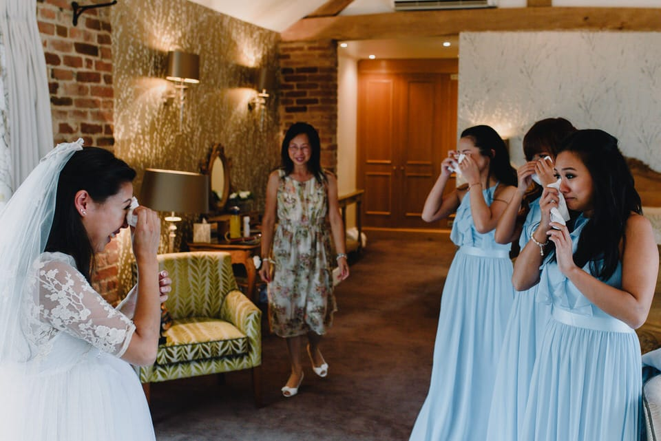 Mythe Barn Wedding 17