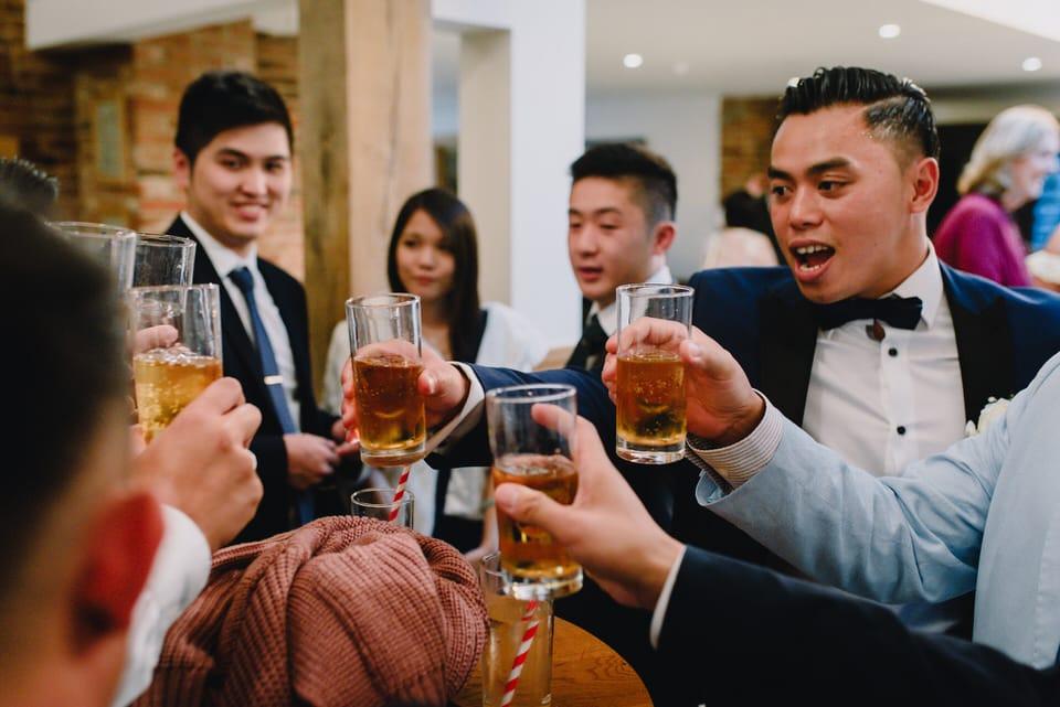 Mythe Barn Wedding 47