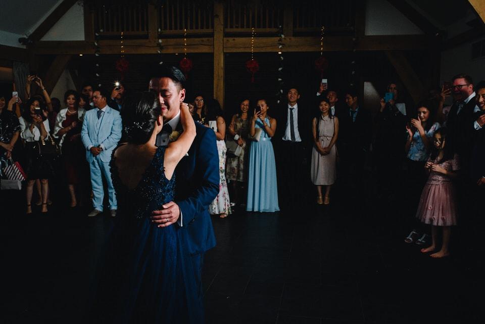 Mythe Barn Wedding 49