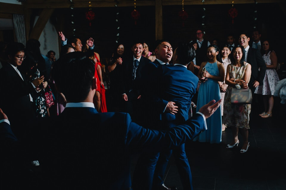 Mythe Barn Wedding 51