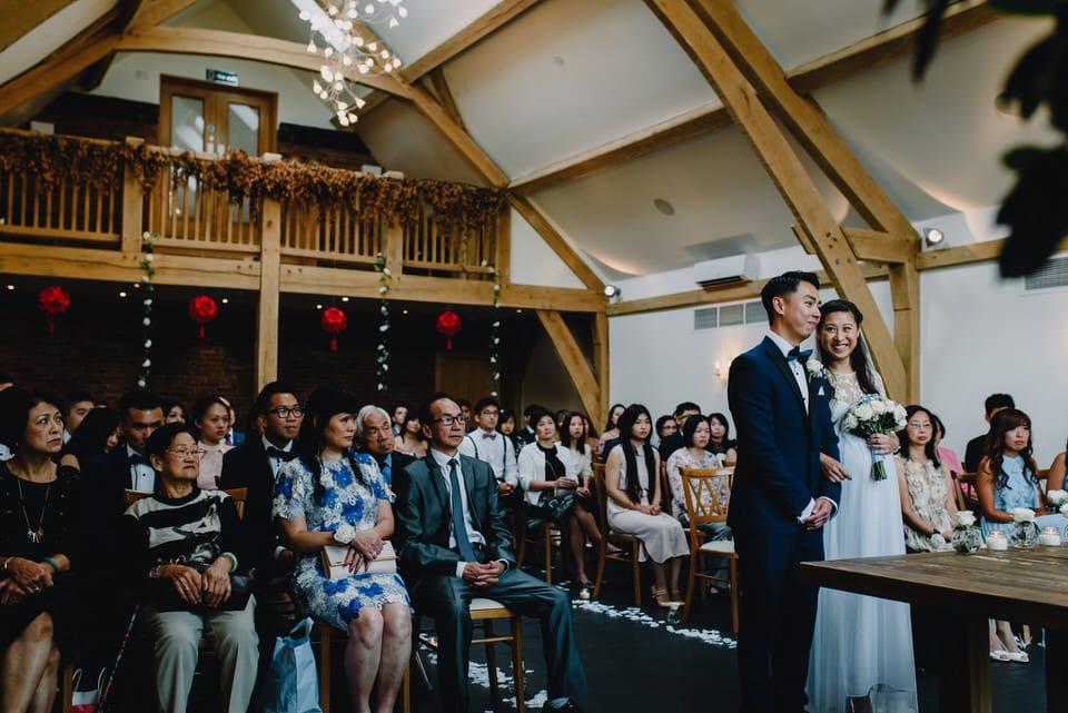 Mythe Barn Wedding 23