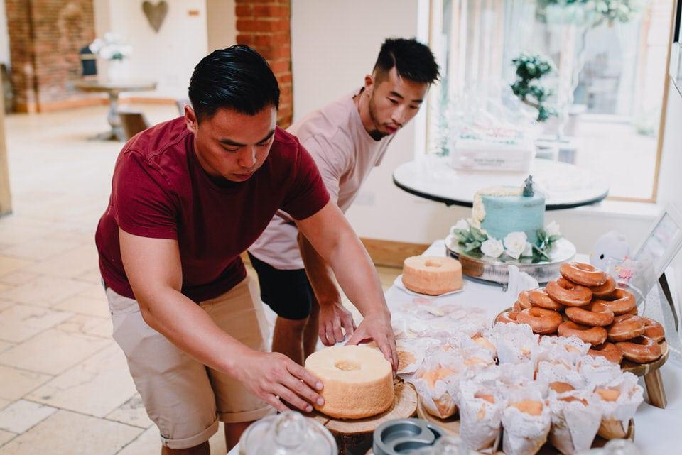 Mythe Barn Wedding 5