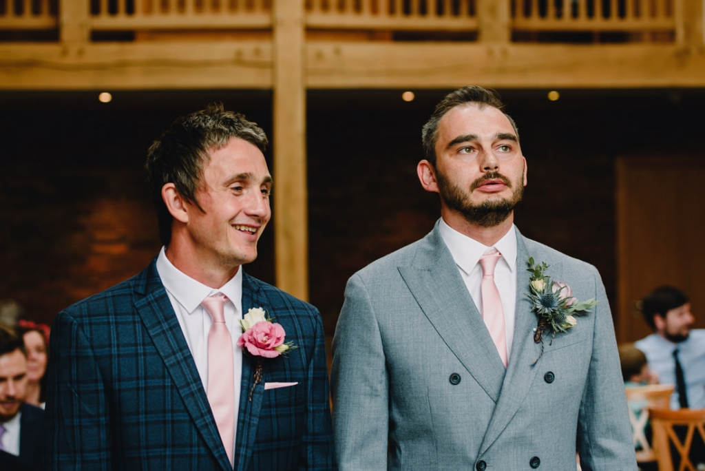 Mythe Barn Wedding 14