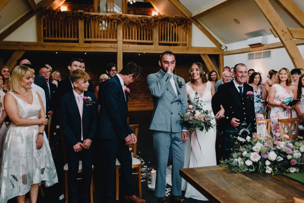 Mythe Barn Wedding 16