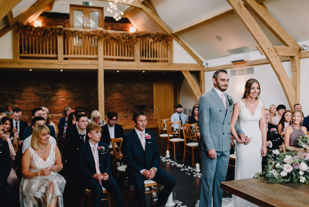 Mythe Barn Wedding 19